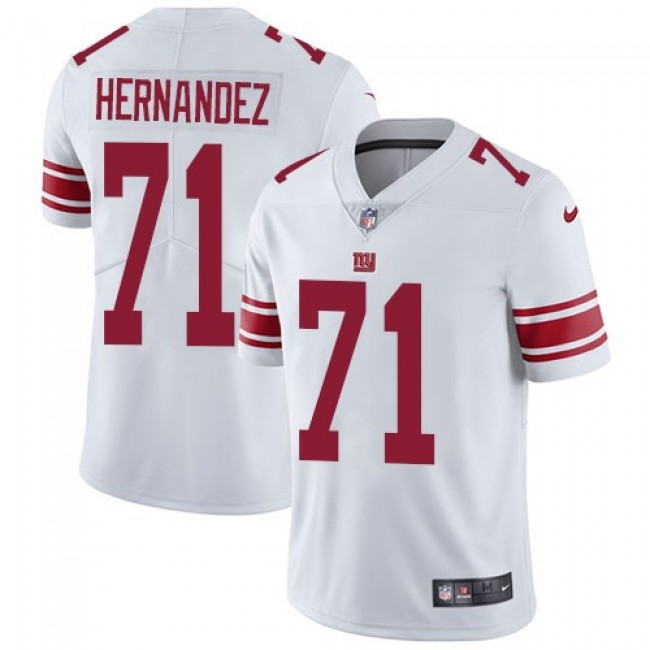 Nike Giants #71 Will Hernandez White Men's Stitched NFL Vapor Untouchable Limited Jersey