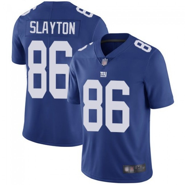 Nike Giants #86 Darius Slayton Royal Blue Team Color Men's Stitched NFL Vapor Untouchable Limited Jersey