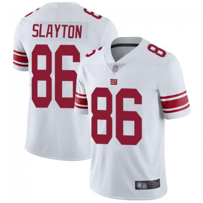 Nike Giants #86 Darius Slayton White Men's Stitched NFL Vapor Untouchable Limited Jersey