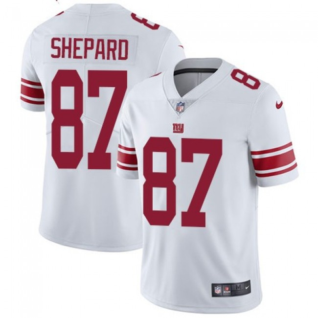 New York Giants #87 Sterling Shepard White Youth Stitched NFL Vapor Untouchable Limited Jersey