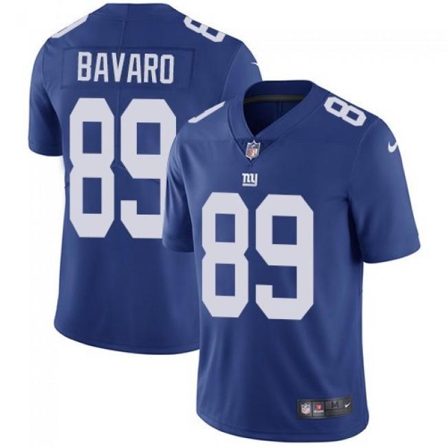 Nike Giants #89 Mark Bavaro Royal Blue Team Color Men's Stitched NFL Vapor Untouchable Limited Jersey
