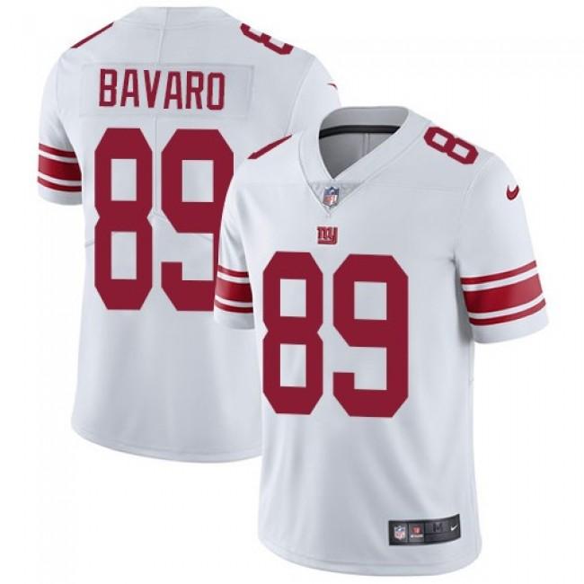 Nike Giants #89 Mark Bavaro White Men's Stitched NFL Vapor Untouchable Limited Jersey