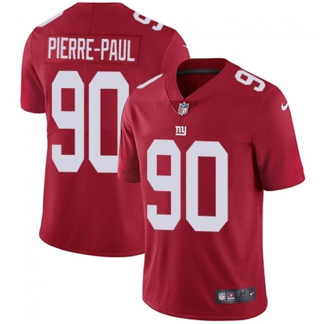 New York Giants #90 Jason Pierre-Paul Red Alternate Youth Stitched NFL Vapor Untouchable Limited Jersey