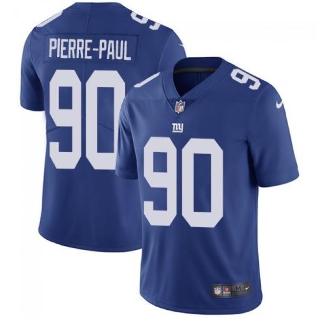 New York Giants #90 Jason Pierre-Paul Royal Blue Team Color Youth Stitched NFL Vapor Untouchable Limited Jersey