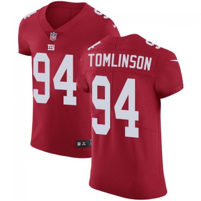 Nike Giants #94 Dalvin Tomlinson Red Alternate Men's Stitched NFL Vapor Untouchable Elite Jersey