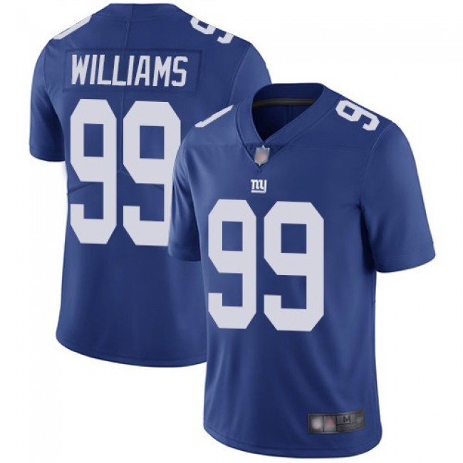 Nike Giants #99 Leonard Williams Royal Blue Team Color Men's Stitched NFL Vapor Untouchable Limited Jersey