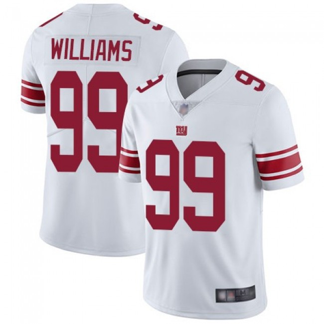 Nike Giants #99 Leonard Williams White Men's Stitched NFL Vapor Untouchable Limited Jersey