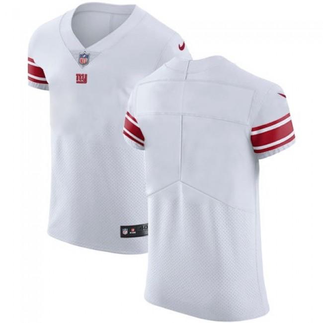 Nike Giants Blank White Men's Stitched NFL Vapor Untouchable Elite Jersey