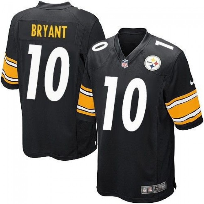 Pittsburgh Steelers #10 Martavis Bryant Black Team Color Youth Stitched NFL Elite Jersey