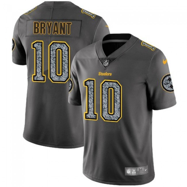 Pittsburgh Steelers #10 Martavis Bryant Gray Static Youth Stitched NFL Vapor Untouchable Limited Jersey