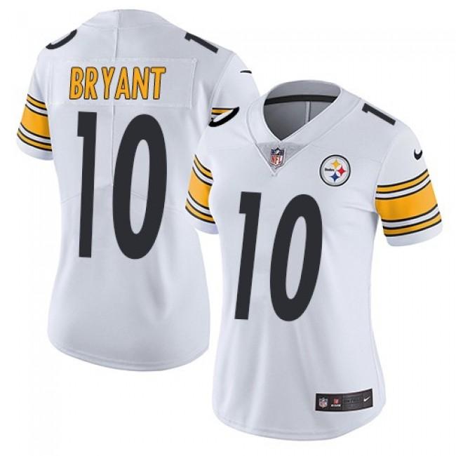 Women's Steelers #10 Martavis Bryant White Stitched NFL Vapor Untouchable Limited Jersey