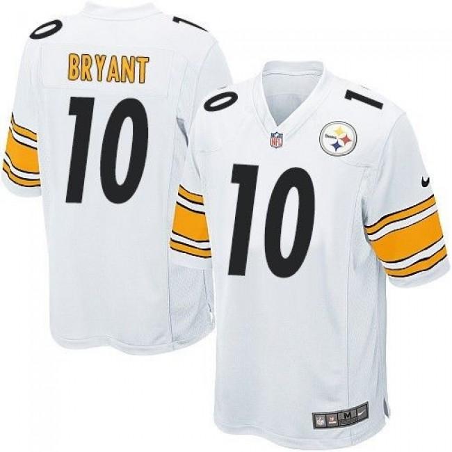 Pittsburgh Steelers #10 Martavis Bryant White Youth Stitched NFL Elite Jersey