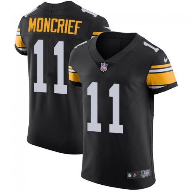 Nike Steelers #11 Donte Moncrief Black Alternate Men's Stitched NFL Vapor Untouchable Elite Jersey