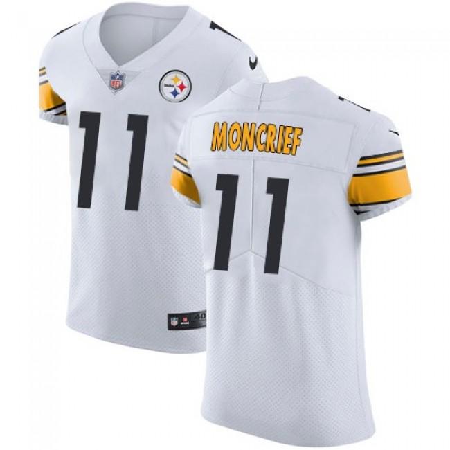 Nike Steelers #11 Donte Moncrief White Men's Stitched NFL Vapor Untouchable Elite Jersey