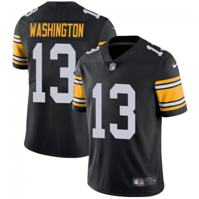 Nike Steelers #13 James Washington Black Alternate Men's Stitched NFL Vapor Untouchable Limited Jersey
