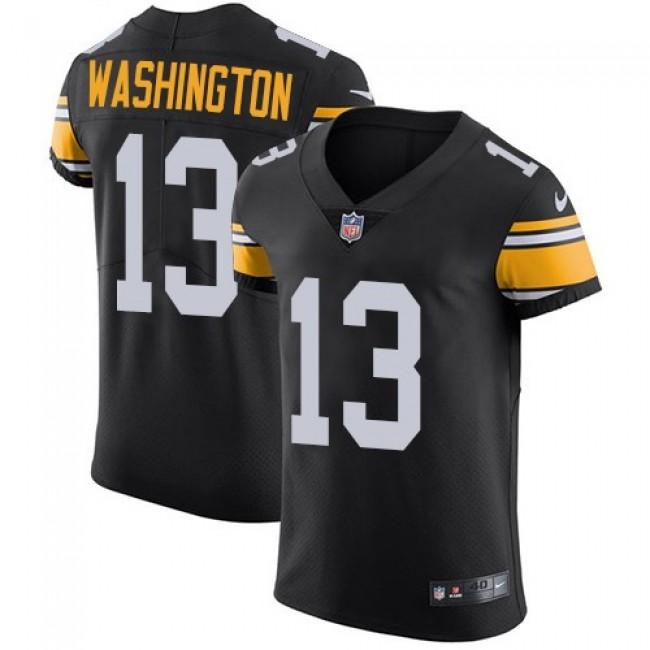Nike Steelers #13 James Washington Black Team Color Men's Stitched NFL Vapor Untouchable Elite Jersey