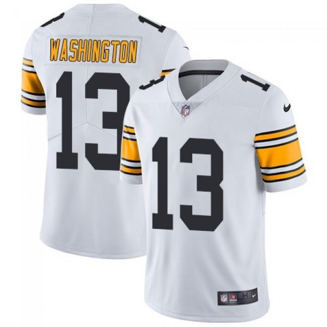 Nike Steelers #13 James Washington White Men's Stitched NFL Vapor Untouchable Limited Jersey