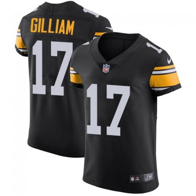Nike Steelers #17 Joe Gilliam Black Alternate Men's Stitched NFL Vapor Untouchable Elite Jersey
