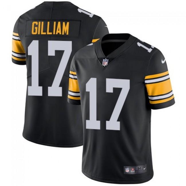 Nike Steelers #17 Joe Gilliam Black Alternate Men's Stitched NFL Vapor Untouchable Limited Jersey