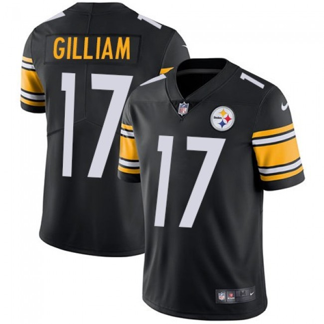 Nike Steelers #17 Joe Gilliam Black Team Color Men's Stitched NFL Vapor Untouchable Limited Jersey