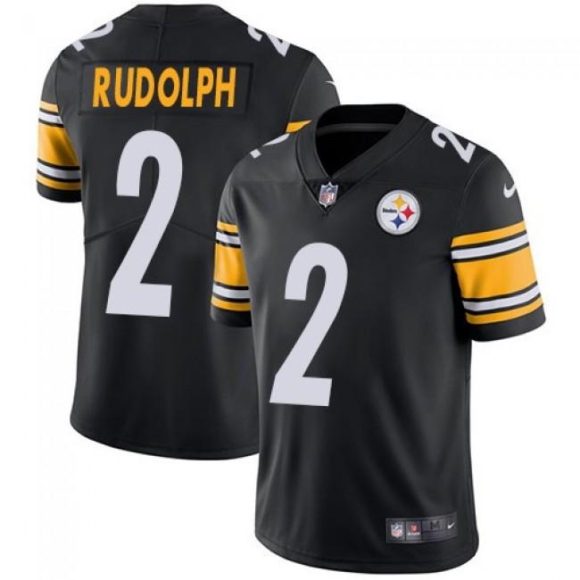 Nike Steelers #2 Mason Rudolph Black Team Color Men's Stitched NFL Vapor Untouchable Limited Jersey