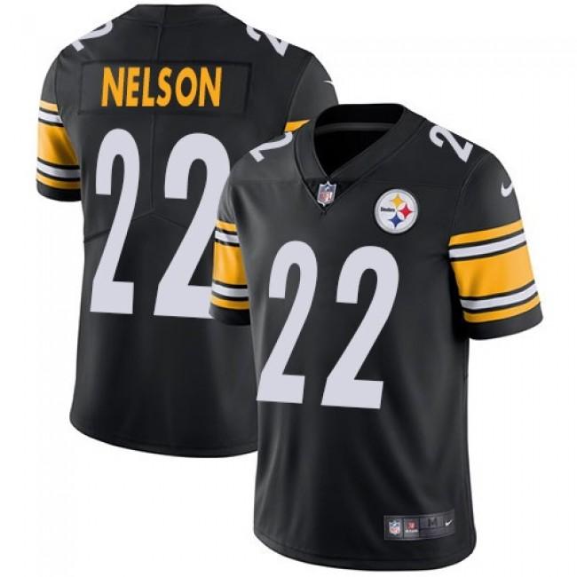 Nike Steelers #22 Steven Nelson Black Team Color Men's Stitched NFL Vapor Untouchable Limited Jersey