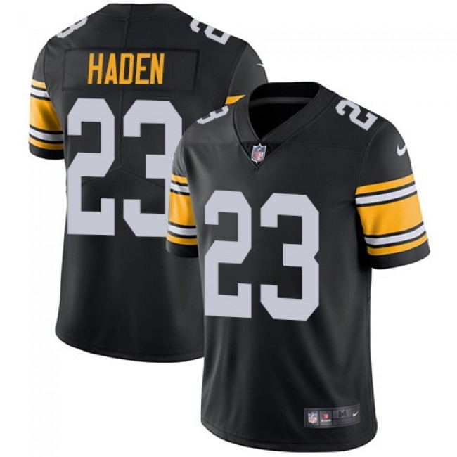 Nike Steelers #23 Joe Haden Black Alternate Men's Stitched NFL Vapor Untouchable Limited Jersey