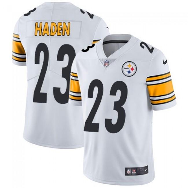 Nike Steelers #23 Joe Haden White Men's Stitched NFL Vapor Untouchable Limited Jersey