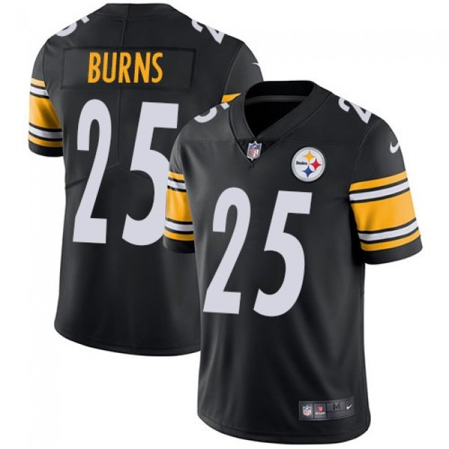 Nike Steelers #25 Artie Burns Black Team Color Men's Stitched NFL Vapor Untouchable Limited Jersey
