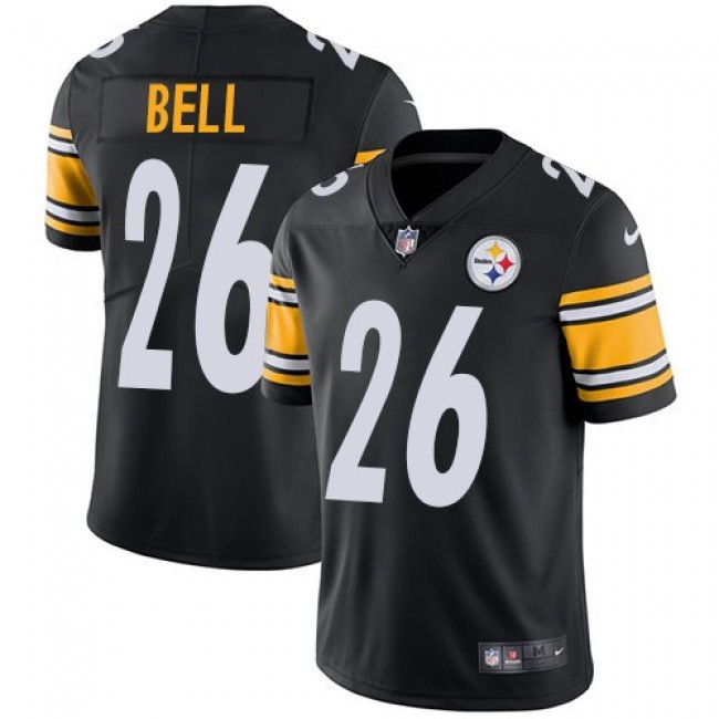 Pittsburgh Steelers #26 Le Veon Bell Black Team Color Youth Stitched NFL Vapor Untouchable Limited Jersey