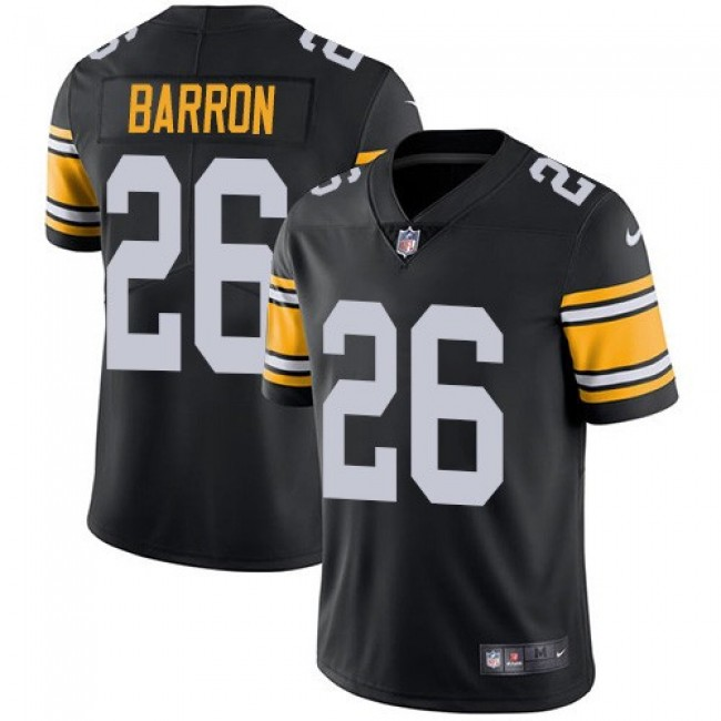 Nike Steelers #26 Mark Barron Black Alternate Men's Stitched NFL Vapor Untouchable Limited Jersey