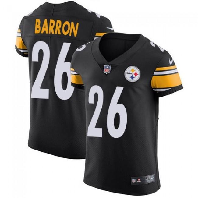 Nike Steelers #26 Mark Barron Black Team Color Men's Stitched NFL Vapor Untouchable Elite Jersey