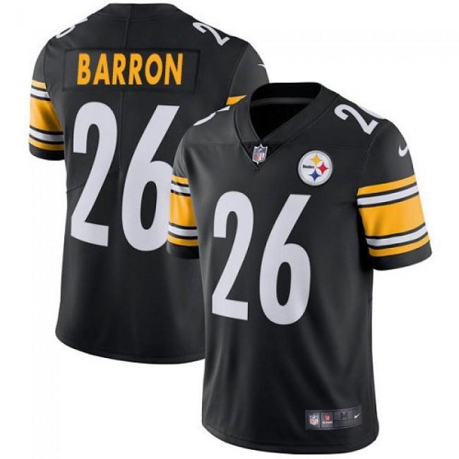 Nike Steelers #26 Mark Barron Black Team Color Men's Stitched NFL Vapor Untouchable Limited Jersey