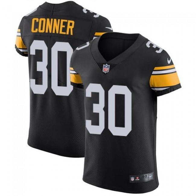Nike Steelers #30 James Conner Black Alternate Men's Stitched NFL Vapor Untouchable Elite Jersey