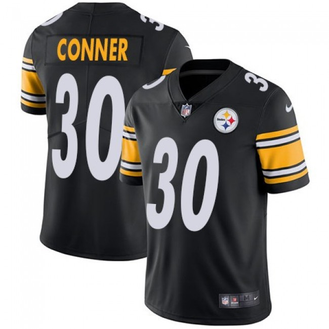 Pittsburgh Steelers #30 James Conner Black Team Color Youth Stitched NFL Vapor Untouchable Limited Jersey