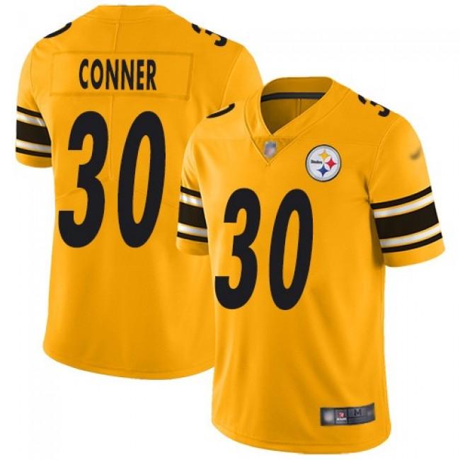 Nike Steelers #30 James Conner Gold Men's Stitched NFL Limited Inverted Legend Jersey