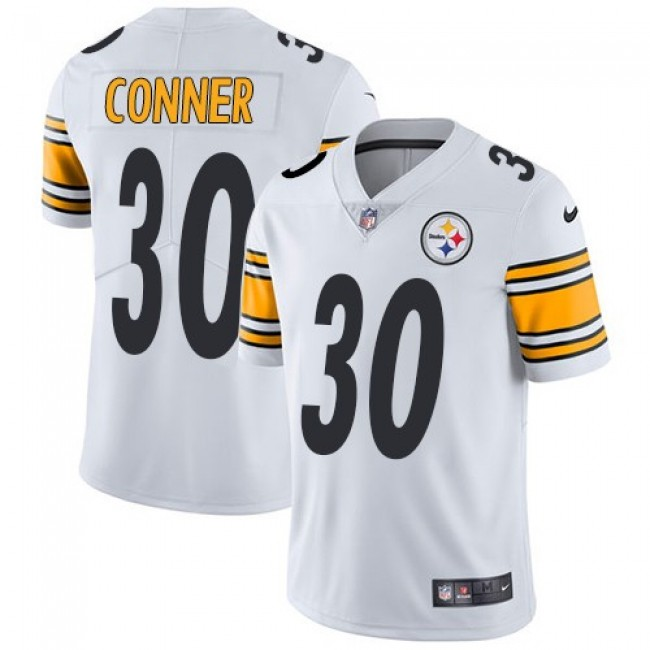 Pittsburgh Steelers #30 James Conner White Youth Stitched NFL Vapor Untouchable Limited Jersey