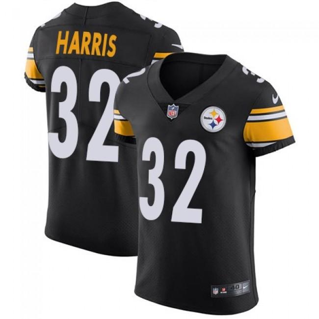 Nike Steelers #32 Franco Harris Black Team Color Men's Stitched NFL Vapor Untouchable Elite Jersey