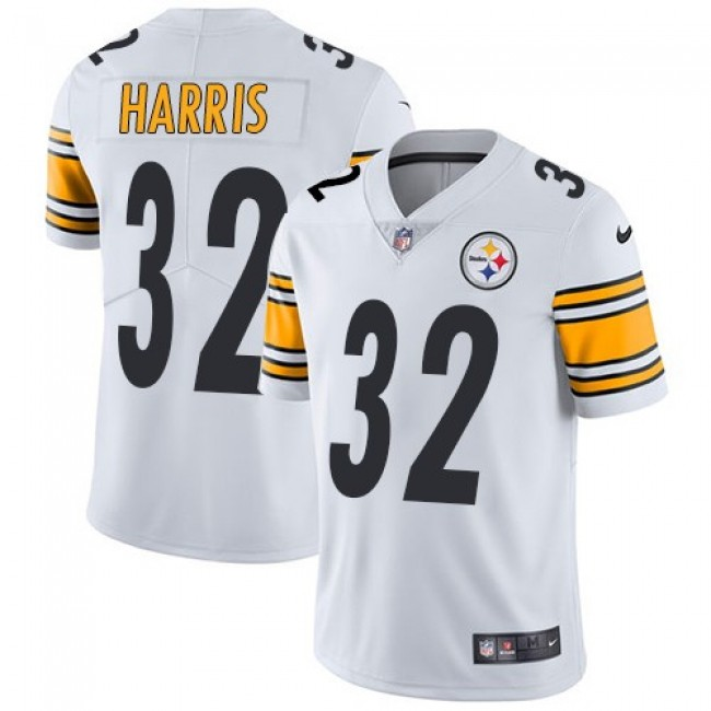 Pittsburgh Steelers #32 Franco Harris White Youth Stitched NFL Vapor Untouchable Limited Jersey