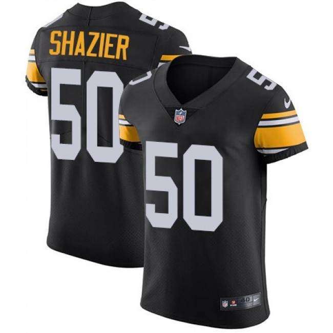 Nike Steelers #50 Ryan Shazier Black Alternate Men's Stitched NFL Vapor Untouchable Elite Jersey