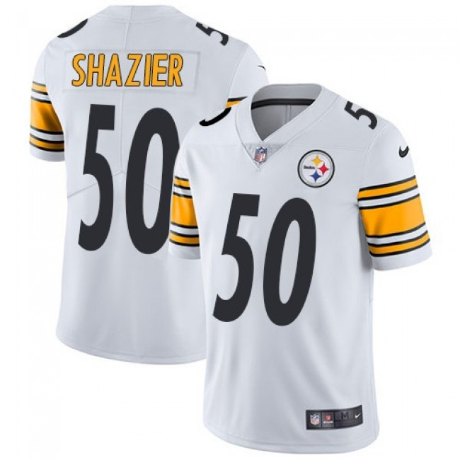Nike Steelers #50 Ryan Shazier White Men's Stitched NFL Vapor Untouchable Limited Jersey
