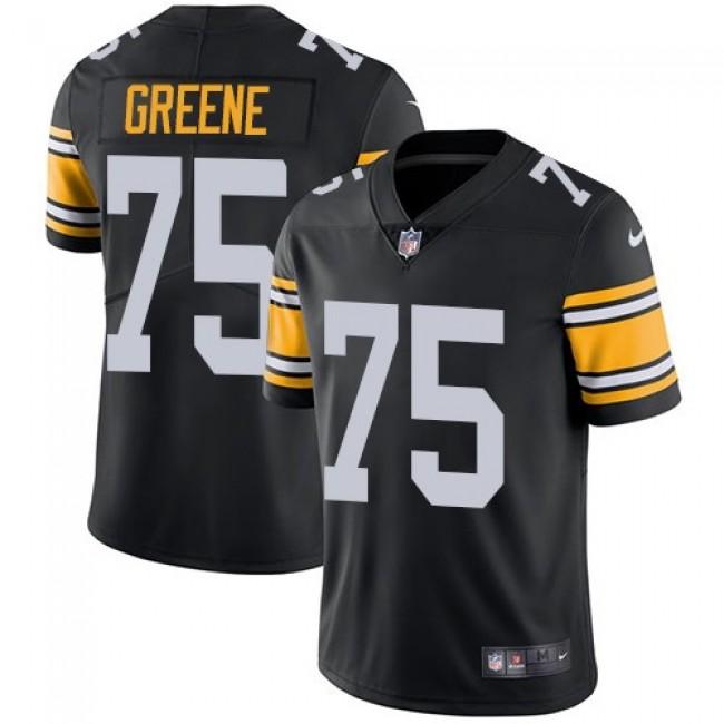 Nike Steelers #75 Joe Greene Black Alternate Men's Stitched NFL Vapor Untouchable Limited Jersey