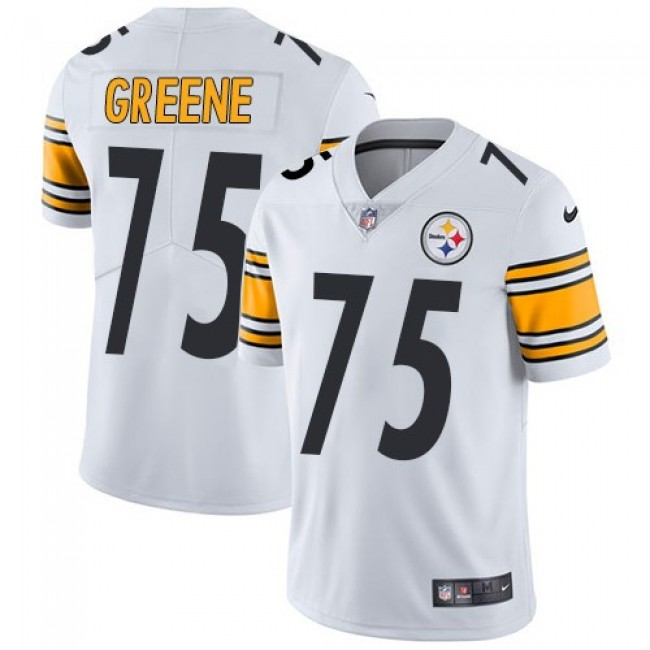 Pittsburgh Steelers #75 Joe Greene White Youth Stitched NFL Vapor Untouchable Limited Jersey