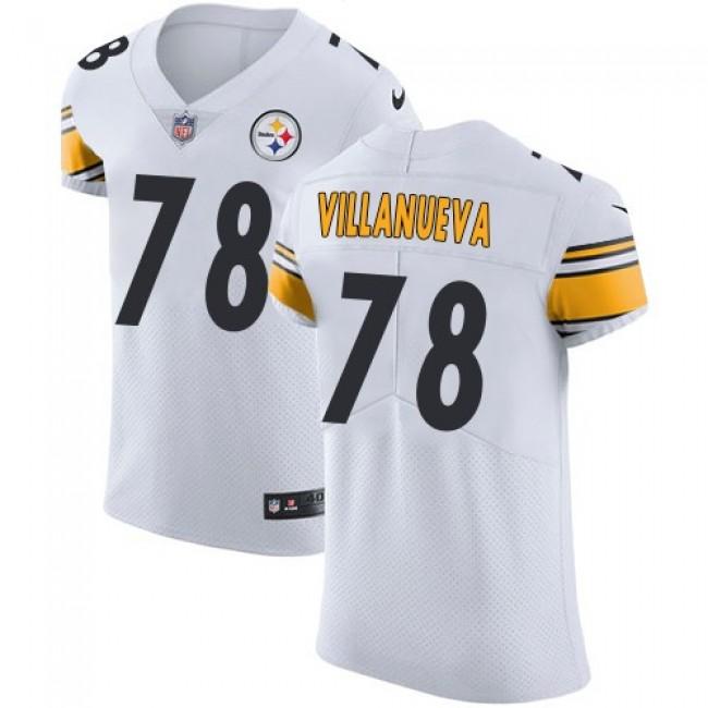 Nike Steelers #78 Alejandro Villanueva White Men's Stitched NFL Vapor Untouchable Elite Jersey