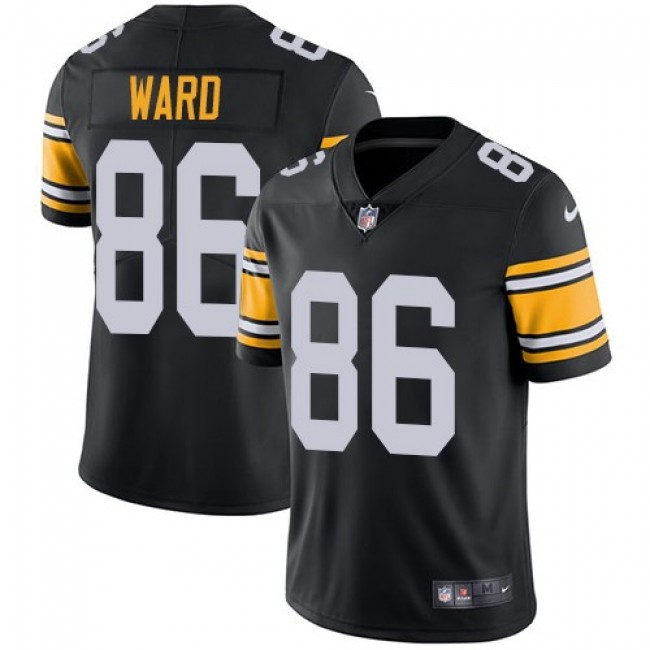 Nike Steelers #86 Hines Ward Black Alternate Men's Stitched NFL Vapor Untouchable Limited Jersey