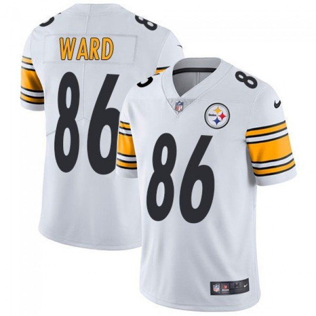 Nike Steelers #86 Hines Ward White Men's Stitched NFL Vapor Untouchable Limited Jersey