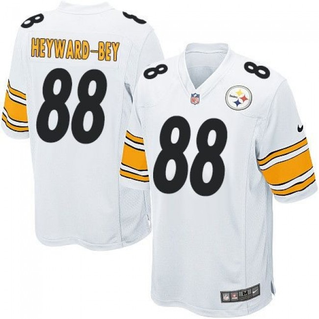 Pittsburgh Steelers #88 Darrius Heyward-Bey White Youth Stitched NFL Elite Jersey