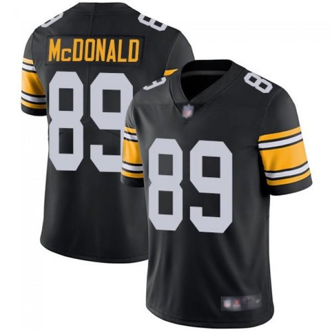 Nike Steelers #89 Vance McDonald Black Alternate Men's Stitched NFL Vapor Untouchable Limited Jersey