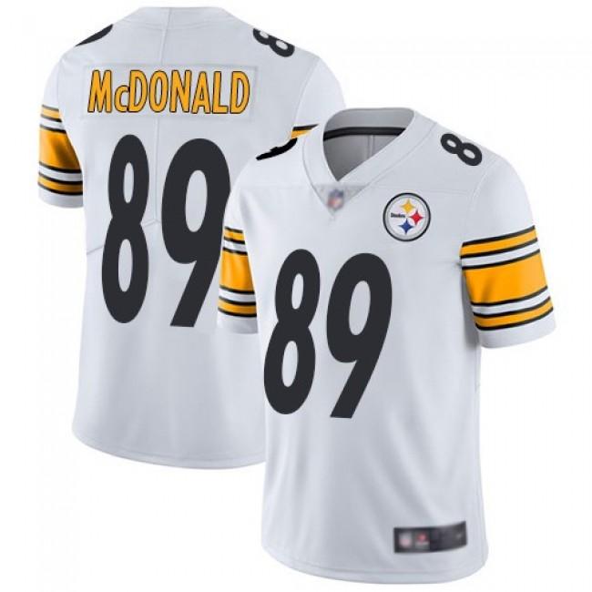 Nike Steelers #89 Vance McDonald White Men's Stitched NFL Vapor Untouchable Limited Jersey