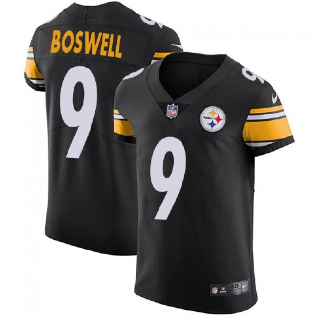 Nike Steelers #9 Chris Boswell Black Team Color Men's Stitched NFL Vapor Untouchable Elite Jersey